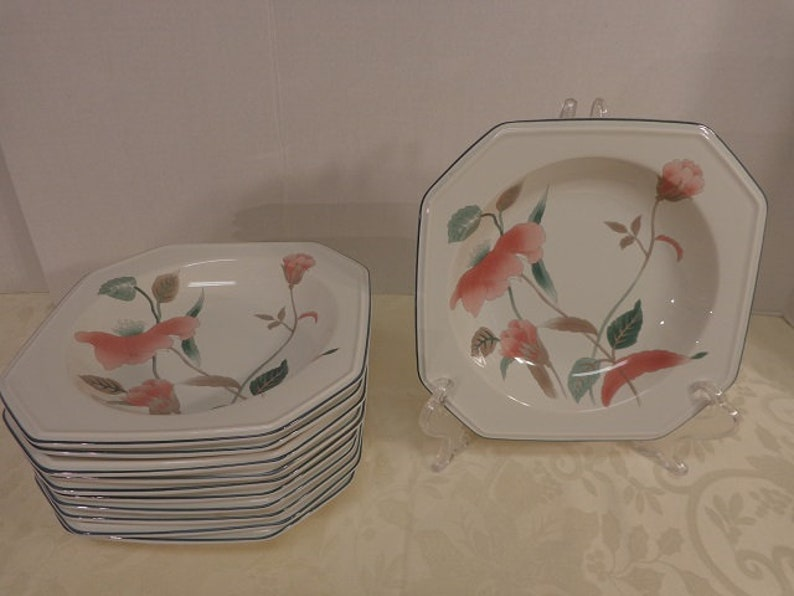 Mikasa Silk Flowers soup bowl 17 available