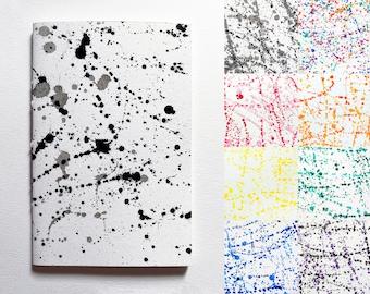 Splatter (Handmade Sketchbooks)