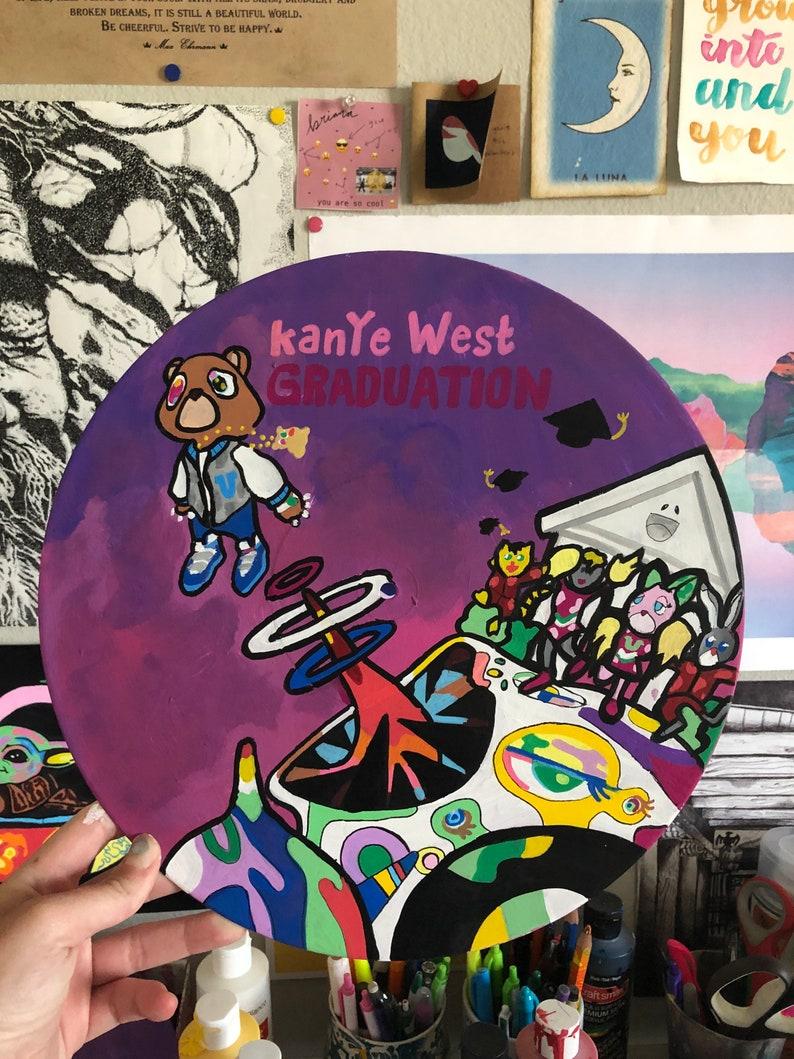 Kanye West Graduation Vinyl Etsy