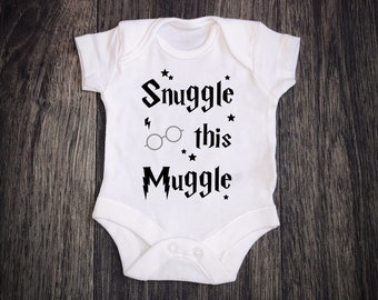YOU/'RE A WIZARD ANY NAME  Harry Potter baby vest custom print baby gift present