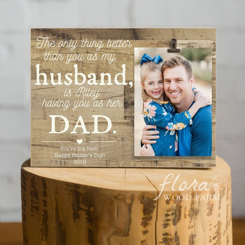 f6b7ca8879c Fathers Day Gift Husband Father's Day Gifts Dad Photo | Etsy