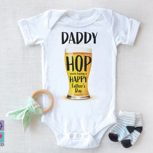 Beer Baby Boy Onesies\u00ae Baby Shower Gift for Him Personalized Beer Onesie\u00ae Father/'s day gift Beer Brewers Baby Onesie\u00ae Gift