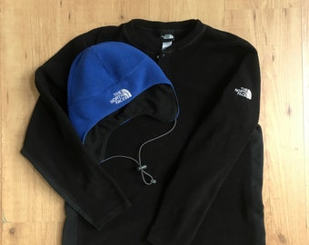 39bd43a2 Vintage TNF Fleece Combo! Mens Medium The North Face Hat and Top