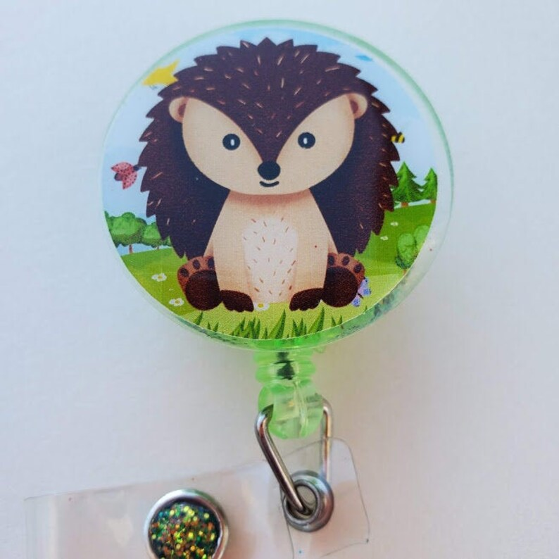 Hedgehog Badge reel image 0
