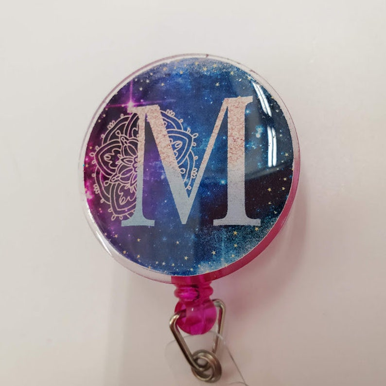 Personalized Initial Badge Reel image 0