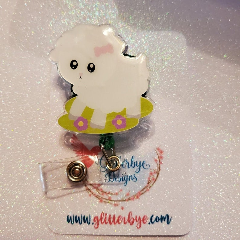 Lamb Badge Reel image 0