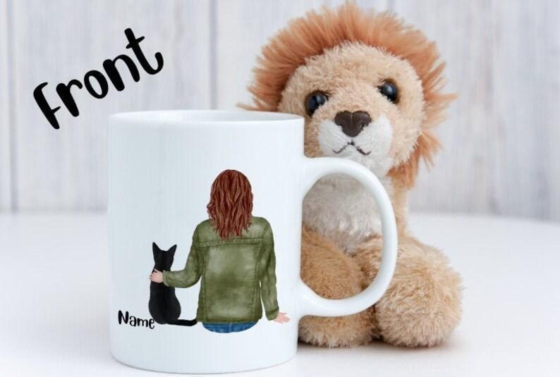 Personalized Animal Lover Mug White mug