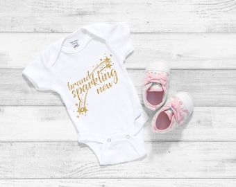Brand Sparkling New Adorable Cute Baby Girl Onesie® - Perfect Baby Shower Gift