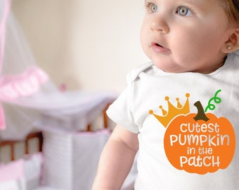Cutest Pumpkin in The Patch Unisex Onesie® - Perfect Fall Gift For New Moms and Baby