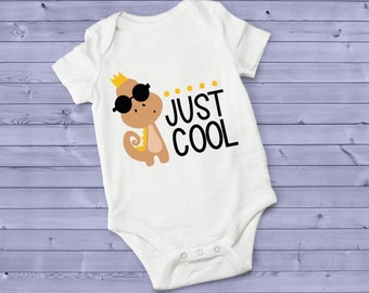 Just Cool Cute Funny Unisex Baby Onesie® - Makes A Great Baby Gift