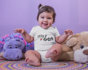 Little Dancer Adorable Cute Baby Girl Onesie® - Perfect Baby Shower Gift