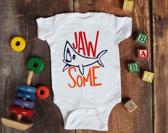Jaw Some Cute Adorable Fun Sayings Unisex Baby Onesie® - Great Baby Shower Gifts