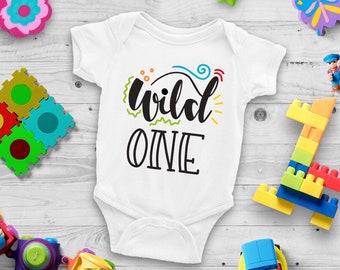 Wild One Cute Unisex Baby Onesie® - Great Baby Shower Gift