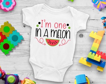 One In A Melon Lovely Adorable Baby Girl Onesie® - The Perfect Baby Shower Gift