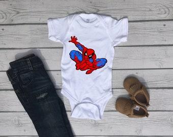 Spiderman Superhero Baby Boy Onesie® - Great Baby Shower Gift for Marvel Moms