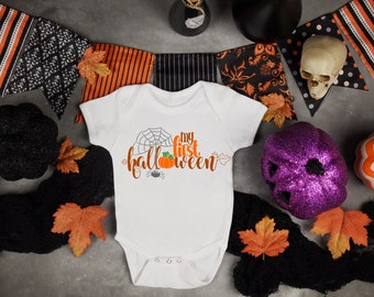 My First Halloween Unisex Baby Onesie® - Great Outfit For Baby Celebrating First Halloween