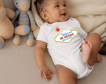 Uh Ohh What Happened In Vegas Didn't Stay In Vegas Adorable Funny Unisex Baby  Onesie® - Perfect Baby Shower Gift for New Parents