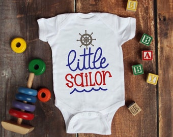 Little Sailor Lovely Adorable Unisex Baby Onesie® - The Perfect Baby Shower Gift