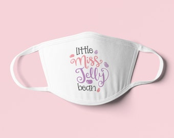 Little Miss Jelly Bean Lovely Cute Toddler Girl Mask - Perfect Gift for That Special Little Bean