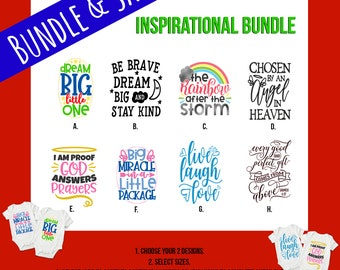 Inspirational Baby Onesie® Bundles - Great Gifts For Baby Showers