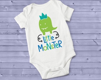 Little Monster Cute Adorable Unisex Baby Onesie® - Great Baby Shower Gifts
