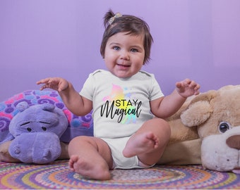 Stay Magical Adorable Cute Baby Girl Onesie® - Perfect Baby Shower Gift