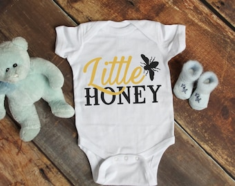 Little Honey Adorable Baby Unisex Onesie® - Makes a Great Baby Shower Gift for New Moms