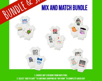 Mix and Match Baby Onesie® Bundles - Perfect Baby Outfit Gifts for New Mom and Baby