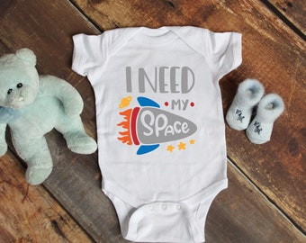 72b64241d I Need My Space Cute Funny Unisex Baby Onesie® - Makes A Great Baby Gift