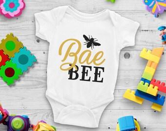 Bae Bee Cute Funny Unisex Baby Onesie® - For Sweet Little Babies