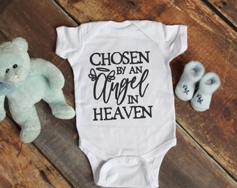 Chosen By An Angel Cute Adorable Unisex Baby Onesie® - Great Baby Shower Gifts