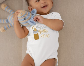 Poppin Bottles in 2020 Cute Fun New Year's Unisex Baby Onesie® - Awesome Gifts for Baby to Celebrate The New Year