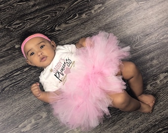 Daddy's Princess Cute Baby Girl Onesie® & Tutu Set - Great Baby Shower Gift