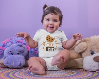 Cookie Tester Cute Adorable Unisex Baby Onesie® - Perfect Baby Shower Gift for New Moms that Bake