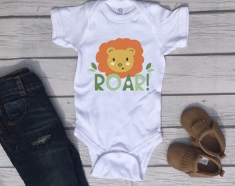 Lion Roar Cute Adorable Baby Boy Onesie® - Great Gifts for Baby