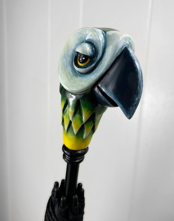 Mary Poppins Inspired Parrot Umbrella Prop Replica Etsy