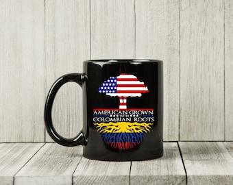Colombia Colombian Flag Travel Vacation Souvenir 11oz Mug