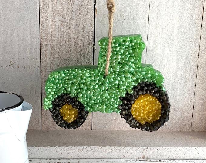 Tractor Aroma Car Air Freshie Freshener Aromie   John Deere