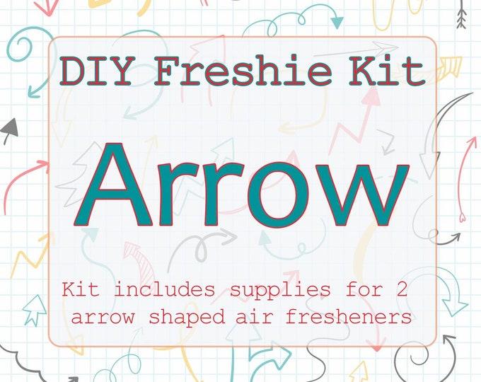 DIY Aromie Freshie Kit- Arrow Car Air Freshener