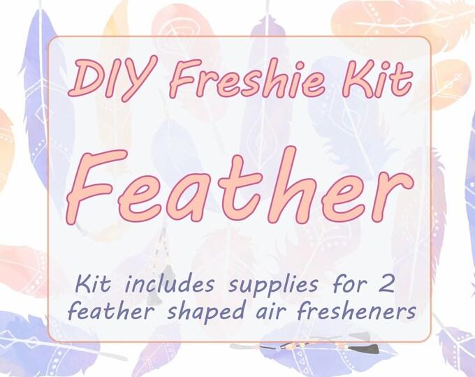 DIY Aromie Freshie Kit- Feather Car Air Freshener