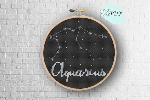 Aquarius by Kustom Krafts cross stitch pattern
