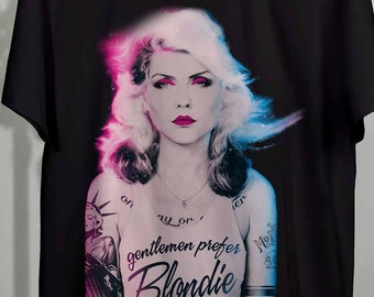 Blondie Debbie Harry Gentlemen Prefer Men Women Unisex Sweatshirt Hoodie 2325