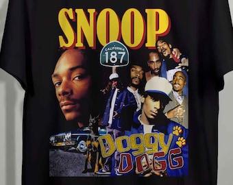 Hip Hop T-Shirt Oldschool Westcoast Smoke Dog Light Blue Tee