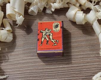 Wedding matches The Perfect decorative vintage Soviet propaganda matches box Smoking accessories.