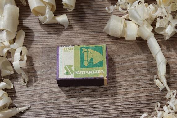 Smoking accessories. Wedding matches The Perfect decorative vintage Soviet propaganda matches box