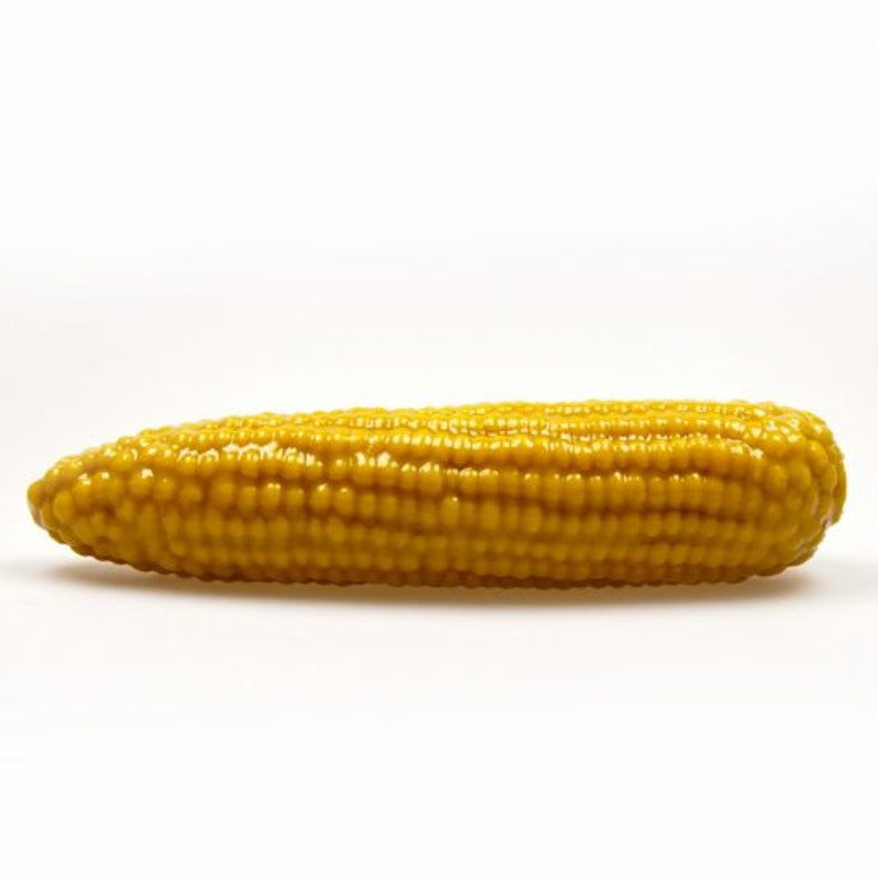 Corn on the cob BIG : silicone dildo with color change when image 0