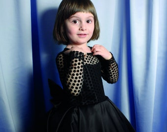 f433c817febca5 Elegante meisje jurk baby zwarte jurk meisjes verjaardag jurk meisjes  feestjurk kanten jurk verjaardagsfeestje kleine prinses avond Amazing Dress