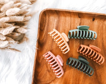 Colorful Claw Hair Clips