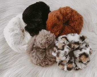 Furry Scrunchies