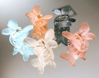 Set of (5) Butterfly Clips